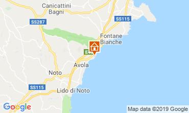 Map Avola Villa 113727