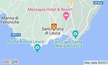 Map Castrignano del Capo Apartment 112913