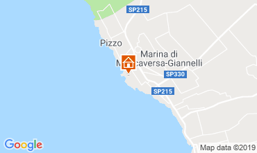 Map Gallipoli Apartment 88735