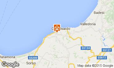 Map Castelsardo Apartment 76146