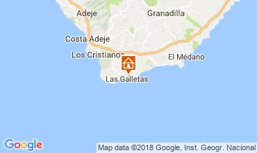 Map Costa del Silencio One-room apartment 107405