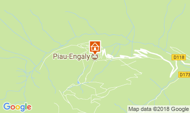 Map Piau Engaly Apartment 4387