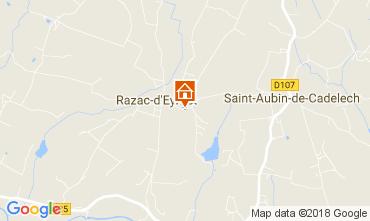 Map Razac-d'Eymet Vacation rental 113318