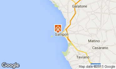 Map Gallipoli Apartment 35841