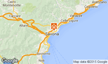 Map Savona Apartment 46813