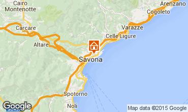Map Savona Apartment 46813