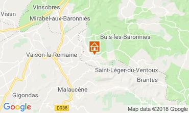 Map Vaison la Romaine House 115901