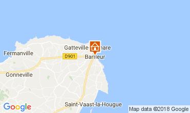 Map Barfleur Vacation rental 113106