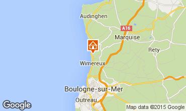 Map Wimereux Apartment 8917