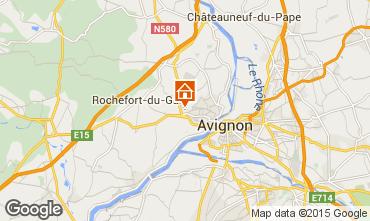 Map Avignon Villa 76063