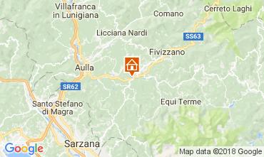 Map Fivizzano Apartment 105257