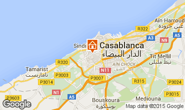 Map Casablanca Apartment 97061
