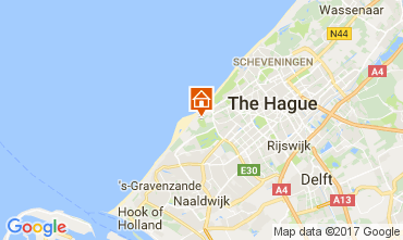 Map The Hague Vacation rental 68087