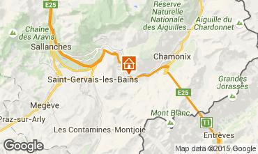 Map Les Houches Apartment 1408
