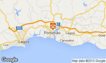 Map Portimão Apartment 57407