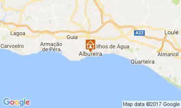 Map Albufeira Apartment 103723