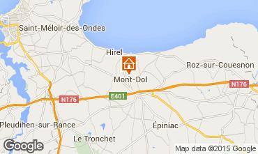 Map Dol-de-Bretagne House 93043