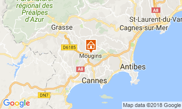 Map Mougins Apartment 115360