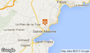 Map Sainte Maxime Villa 85005
