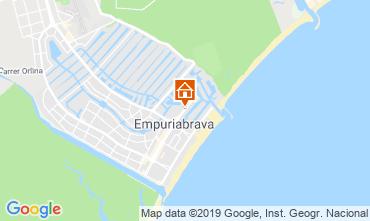 Map Empuriabrava Apartment 118293