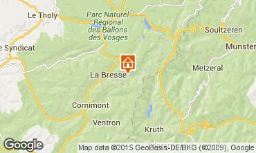 Map La Bresse Hohneck Apartment 62238