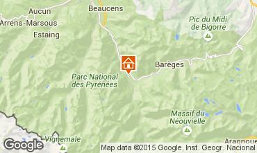Map Luz Saint Sauveur Vacation rental 58906