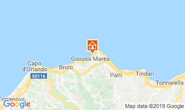 Map Gioiosa Marea Apartment 102041