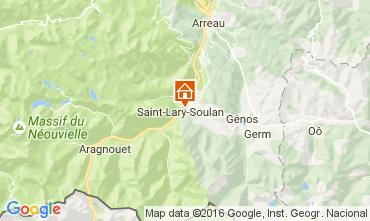 Map Saint Lary Soulan Chalet 107164