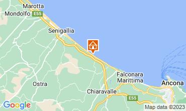 Map Senigallia Apartment 116452