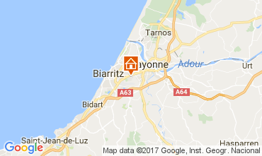 Map Biarritz Apartment 109818