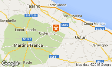 Map Cisternino House 31698