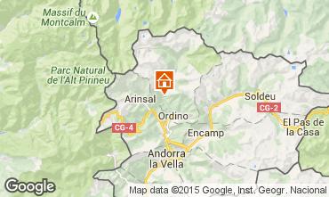 Map La Cortinada  Apartment 94882