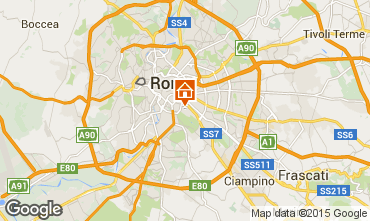 Map Rome Apartment 67307