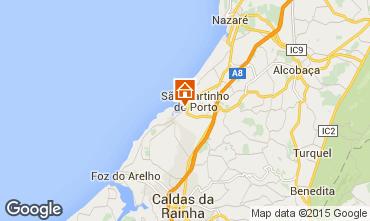 Map São Martinho do Porto Apartment 74983