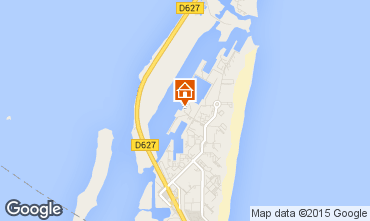 Map Port Leucate Apartment 81729
