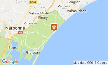 Map Saint Pierre la Mer Villa 112420