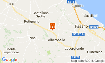 Map Alberobello Villa 113922