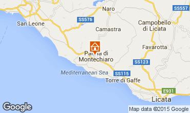 Map Agrigento Apartment 95342