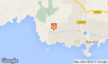 Map Bandol Apartment 8636