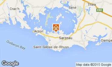 Map Sarzeau House 95470