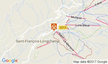Map Saint François Longchamp Chalet 107261