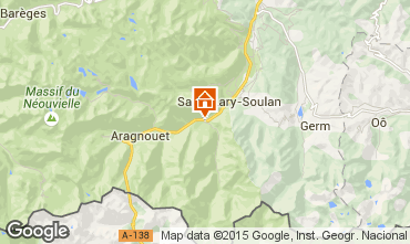 Map Saint Lary Soulan House 4447