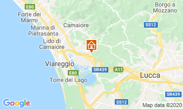 Map Viareggio Vacation rental 98512