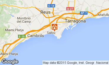 Map Salou Apartment 43051