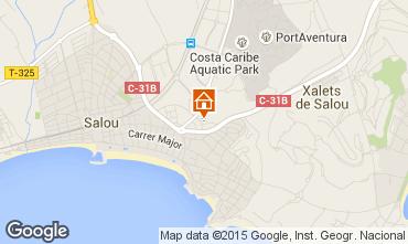 Map Salou Apartment 43051