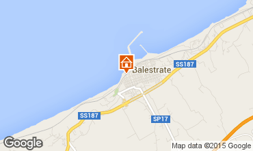 Map Balestrate Apartment 46160