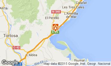 Map L'ampolla Villa 94750