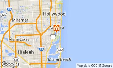 Map Miami Beach Villa 5332
