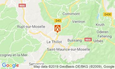 Map La Bresse Hohneck Chalet 119039