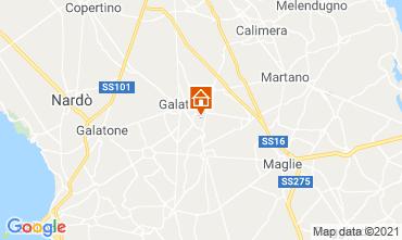 Map Lecce Villa 104568